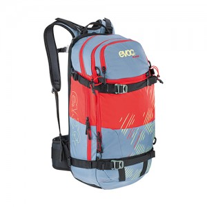 EVOC FR GUIDE WOMAN (STONE-RED) - 30L